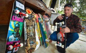 Fresno Skateboard Salvage in the Fresno Bee
